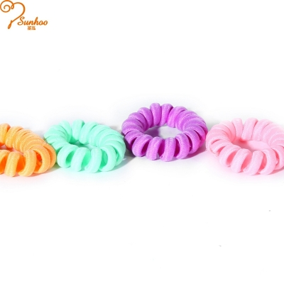 Chinese good quality twisted hair tie H-0027